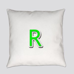 R Everyday Pillow