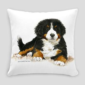Bernese Mountain Dog Puppy.com Everyday Pillow