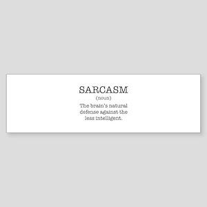 Sarcasm Noun Sticker (Bumper)