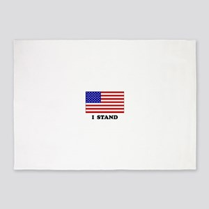 US Flag I Stand 5'x7'Area Rug