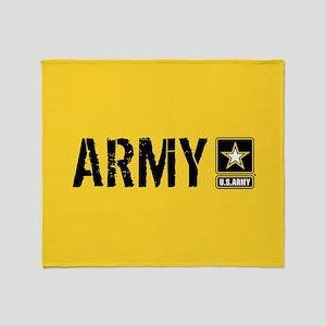 U.S. Army: Army (Gold) Throw Blanket