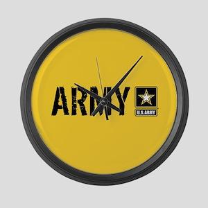 U.S. Army: Army (Gold) Large Wall Clock