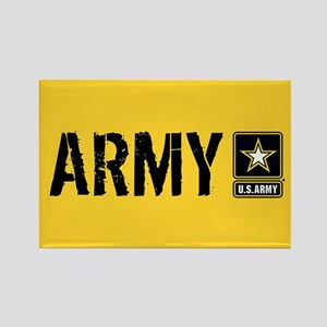U.S. Army: Army (Gold) Rectangle Magnet