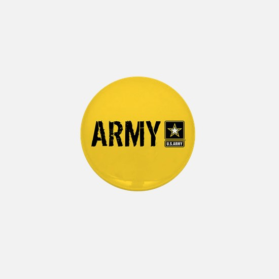 U.S. Army: Army (Gold) Mini Button