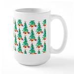 Watercolor Christmas Trees Mugs