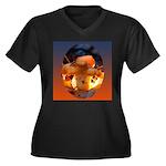 Backlit Mushroom Plus Size T-Shirt