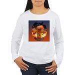 Backlit Mushroom Long Sleeve T-Shirt