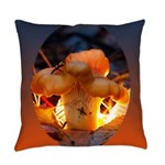 Backlit Mushroom Everyday Pillow