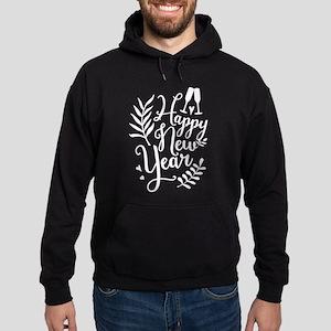 Happy New Year Hoodie (dark)