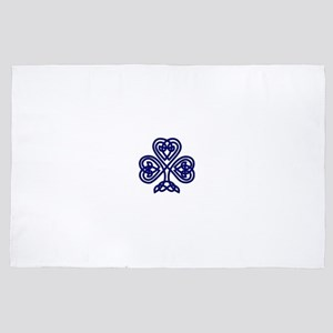 Navy Celtic Knot 4' x 6' Rug