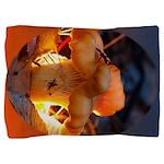 Backlit Mushroom Pillow Sham