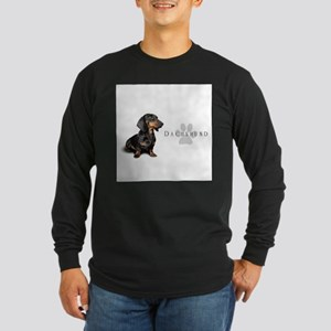 Dachshund Long Sleeve Dark T-Shirt