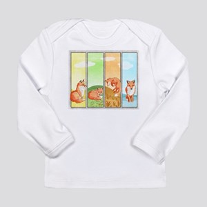 Season Of The Foxes Infant Long Sleeve T-Shirt