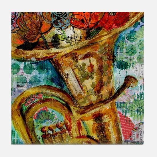 Cute Miriam Tile Coaster
