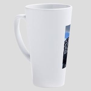 Chattanooga Walking Bridge 17 oz Latte Mug