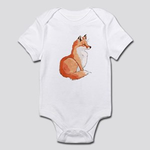 Sitting Fox Infant Body Suit