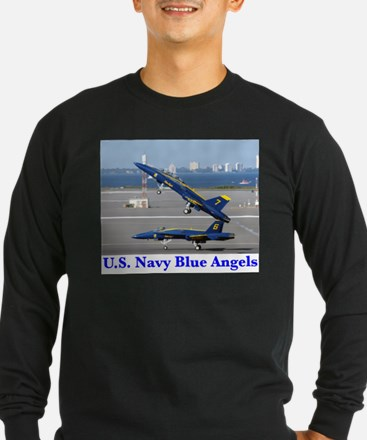 Cute Navy blue angels T