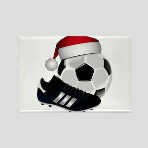 Christmas Soccer Magnets