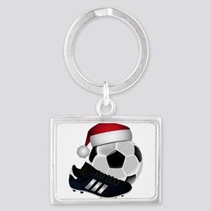 Christmas Soccer Keychains