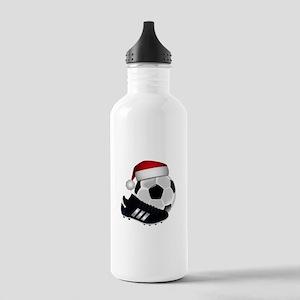 Christmas Soccer Stainless Water Bottle 1.0L