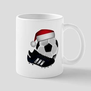 Christmas Soccer Mugs