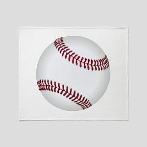Baseball Game Time Throw Blanket