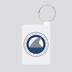 save our sharks Keychains