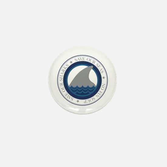 save our sharks Mini Button