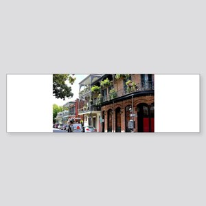 French Quarter Street Bumper Sticker