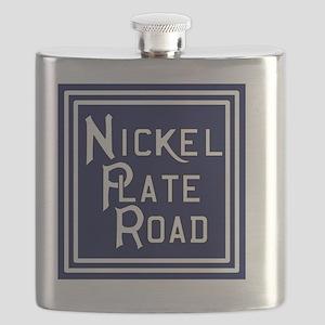 Nickel Plate Road Flask