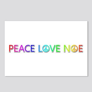 Peace Love Noe Postcards 8 Pack