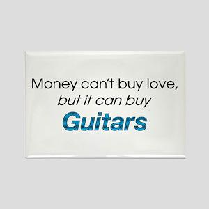 Money&Guitars Rectangle Magnet
