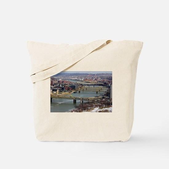 City of Bridges Tote Bag