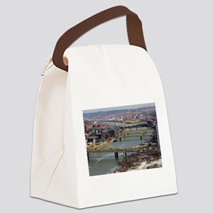 City of Bridges Canvas Lunch Bag