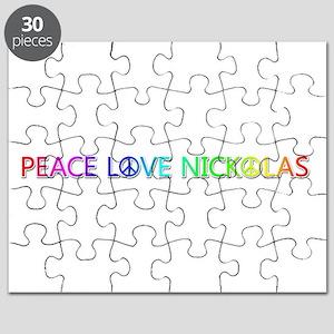 Peace Love Nickolas Puzzle
