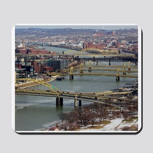 City of Bridges Mousepad