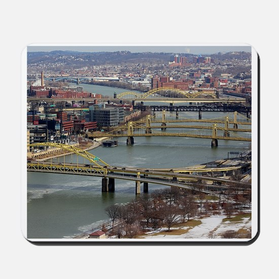 City of Bridges Mousepad