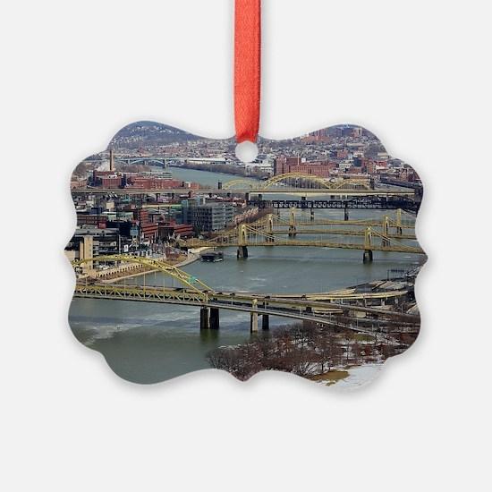 City of Bridges Ornament