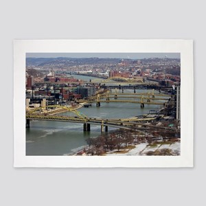 City of Bridges 5'x7'Area Rug