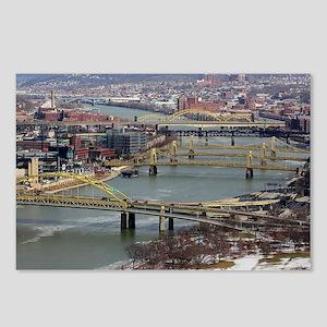 City of Bridges Postcards (Package of 8)