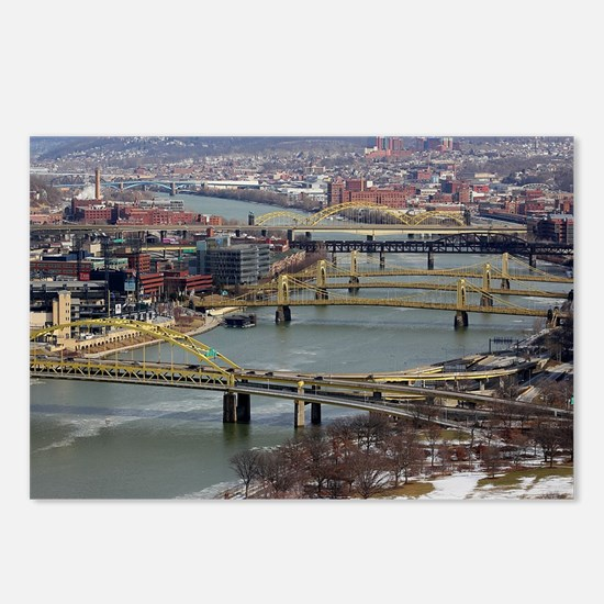 City of Bridges Postcards (Package of 8)