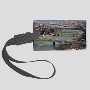 City of Bridges Large Luggage Tag