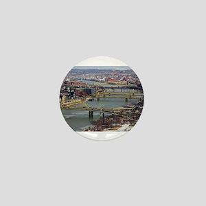 City of Bridges Mini Button