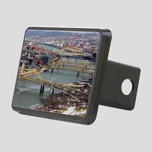 City of Bridges Rectangular Hitch Cover