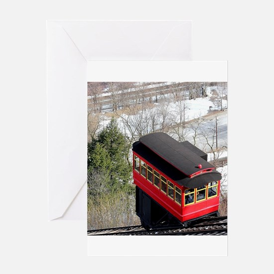 Pittsburgh Incline Greeting Cards