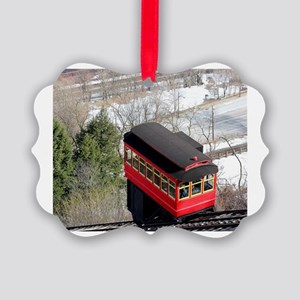 Pittsburgh Incline Picture Ornament