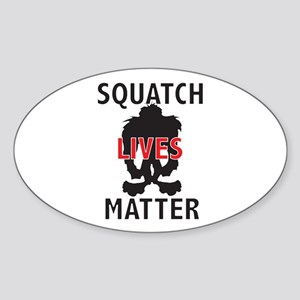 SQUATCH LIVES MATTER Sticker