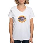 Bald Beaver Brewing Women's V-Neck T-Shirt
