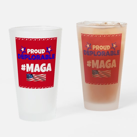 MAGA Drinking Glass
