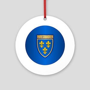 Wiesbaden Round Ornament